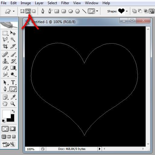 Как сделать контуры с фото