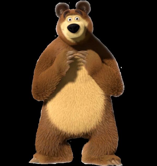 медведи картинки декупаж