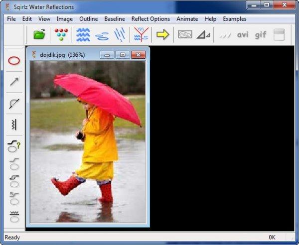 Анимация дождя