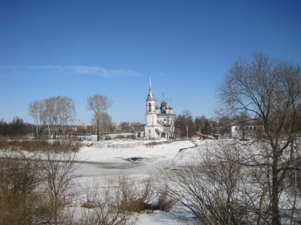 Вологда в апреле