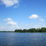 Озеро и небо
