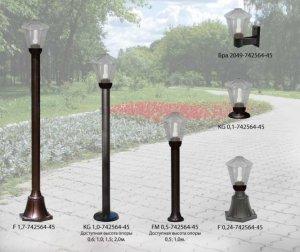 Садово-парковые светильники Латерна