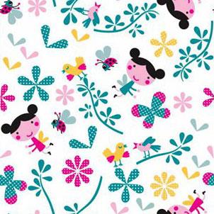 Девочки и цветы