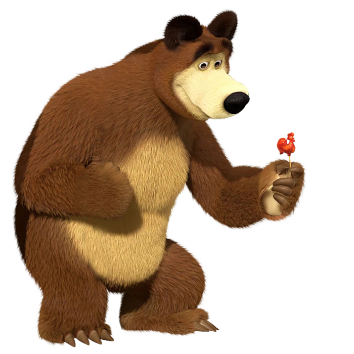 медведь маша и медведь фото