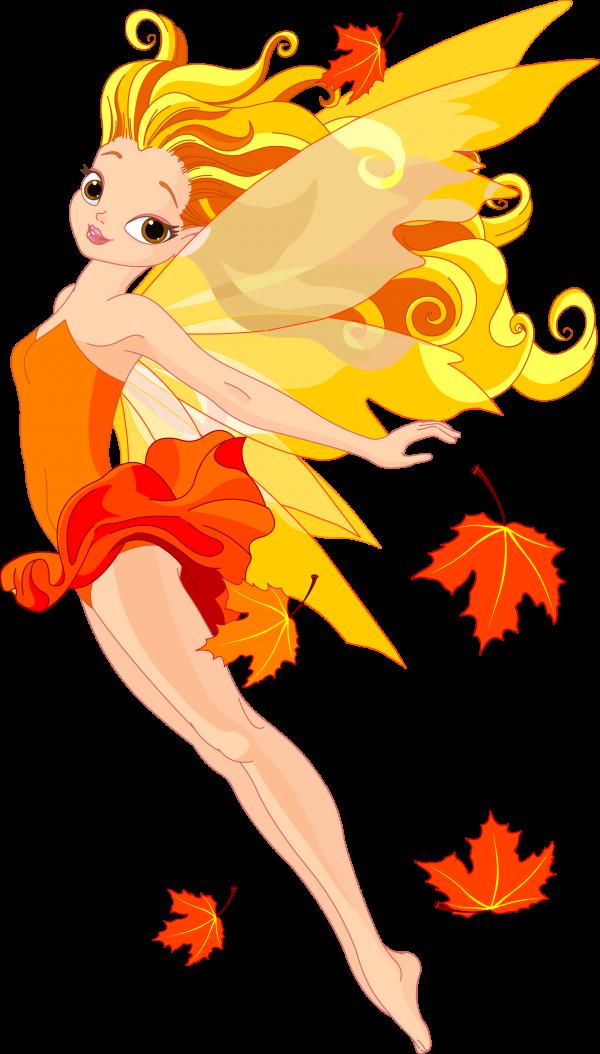 Осень. Фея
